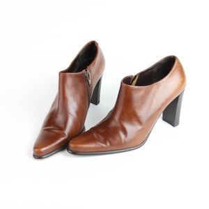 Via Spiga Womens Booties Ankle Boots Leather